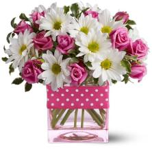 Teleflora\'s Polka Dots and Posies