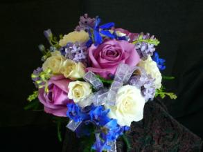 Lavender Spring Bridesmaid Bouquet