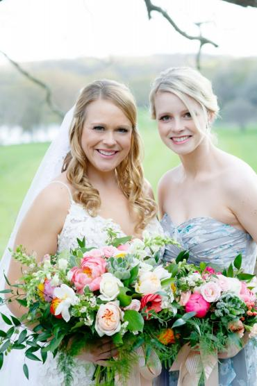 Bride and Bridesmaid 2
