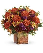 Teleflora\'s Golden Amber Bouquet
