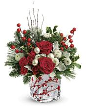 Teleflora\'s Winterberry Kisses