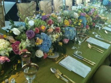 Main Head Table Floral Centerpiece