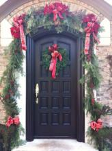 Client Door Decor for Holiday