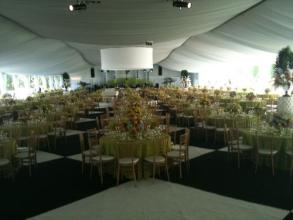 Private Event Interior of Tent