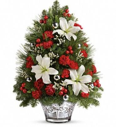 Teleflora\'s Festive Trimmings Tree