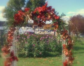 Fall Arch at Bella Vista