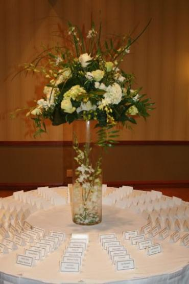 Card Table Centerpiece