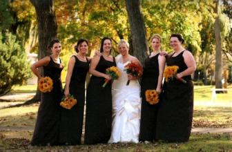 Gerbera Daisy Fall Wedding