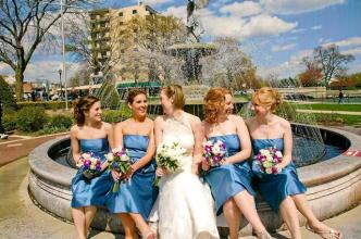 Blue and Fuschia Wedding 3