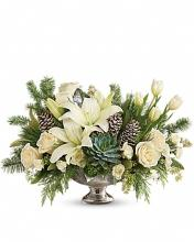 Teleflora\'s Winter Wilds Centerpiece