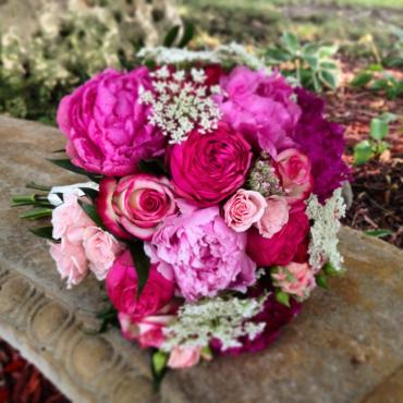 Shades of Pink with Peony\'s and Roses