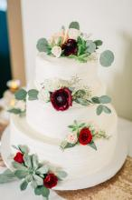 Wedding cake by Celebrations Catering