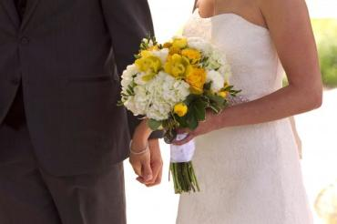 Yellow and White Floral Bouquet
