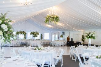 Reception at The Pavilion Tent
