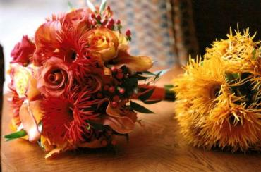 Fall Shades Bouquets