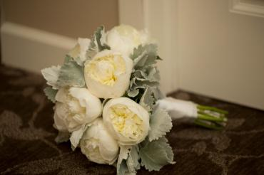 Kunes Pufhal wedding bouquet