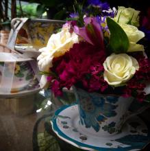 Vintage Teacup Bouquet