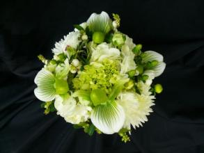 Green Lady Slipper Bridal Bouquet