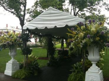 Entrance to Tent Walkway