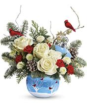 Teleflora\'s Winter Flock Bouquet