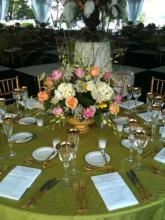 Centerpiece in Pink