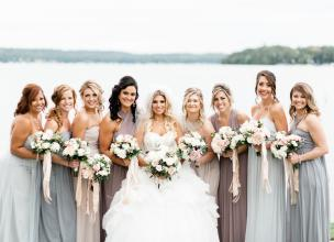 Bridal Party Bridesmaids