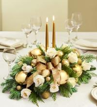 Golden Celebration Centerpiece