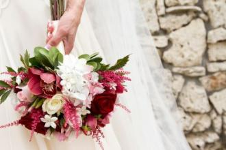 Gwen\'s wedding bouquet