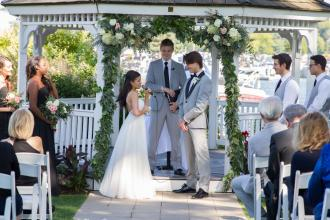 Ceremony at Harborside Gazebo