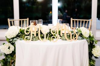 Sweetheart Table Decor