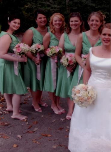 Brenda and Bridesmaids