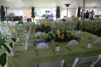 Head Table - Miller Wedding