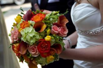 Bright Mix Bridal Bouquet - Summer